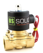 34 110V Brass Electric Solenoid Valve